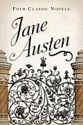Four Classic Novels Jane Austen Sense & Sensibility Pride & Prejudice Emma Persuasion
