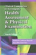Clinical Companion For Estes Health Assessment & Physical Examination