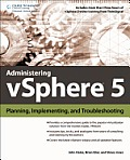 Administering Vsphere 5: Planning, Implementing and Troubleshooting Cover