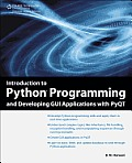 Introduction to Python Programming and Developing GUI Applications with Pyqt Cover