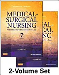 Medical-surgical Nursing Volume 1 and Volume 2 (2 Books) (7TH 13 Edition)