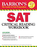 SAT Critical Reading Workbook 14th Edition