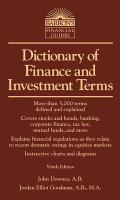 Barron's Dictionary of Finance and Investment Terms (9TH 14 Edition)
