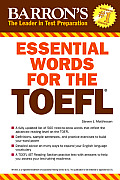 Essential Words for the TOEFL: Test of English as a Foreign Language (Barron's Essential Words for the TOEFL)