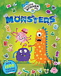 Monsters (Little Hands Creative Sticker Play)