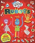 Robots (Little Hands Creative Sticker Play)