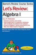 Let's Review Algebra 1 (Let's Review)