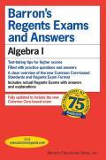 Barron's Regents Exams and Answers: Algebra I (Barron's Regents Exams and Answers)