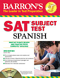 Barrons SAT Subject Test Spanish with Audio CDs 3rd Edition