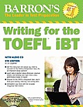 Barron's Writing for the Toefl Ibt - With Audio CD (4TH 11 Edition)