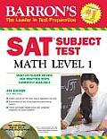 Barron's SAT Subject Test Math Level 1 [With CDROM] (Barron's SAT Subject Test Math Level 1)