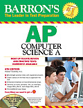 Barron's AP Computer Science a , 6th Edition [With CDROM] (Barron's AP Computer Science)