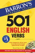 501 English Verbs [With CDROM] (501 Verb) Cover