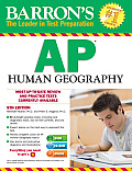 Barrons AP Human Geography 5th Edition With CDROM