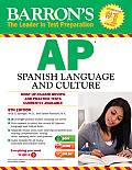 Barron's AP Spanish Language and Culture [With CDROM]