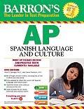 Barron's Ap Spanish Language and Culture [with Cdrom and MP3]