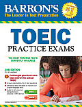 Barrons Toeic Practice Exams With MP3 CD 2ND Edition