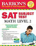 Barron's SAT Subject Test Math Level 2 , 11th Edition [With CDROM]
