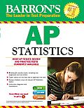 Barron's AP Statistics , 8th Edition [With CDROM]