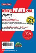 Algebra I Power Pack (Regents Power Packs)