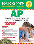 Barrons AP English Language & Composition 5th Edition With CDROM