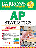 Barron's AP Statistics , 7th Edition [With CDROM] (Barron's AP Statistics) Cover