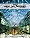Elementary Geometry for College Students (5TH 11 Edition)