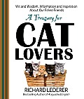 A Treasury for Cat Lovers: Wit and Wisdom, Information and Inspiration about Our Feline Friends Cover