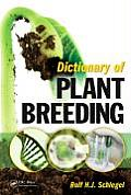 Dictionary of Plant Breeding, Second Edition Cover