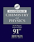CRC Handbook of Chemistry and Physics, 91st Edition (CRC Handbook of Chemistry & Physics)