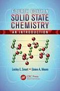 Solid State Chemistry: An Introduction, Fourth Edition Cover