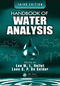 Handbook of Water Analysis, Third Edition