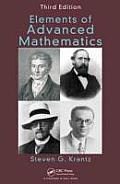 Elements of Advanced Mathematics, Third Edition Cover