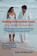 Wedding Planning Made Simple: An All-In-One Wedding Planner