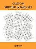 Custom Sudoku Board Set (Large Print) Cover