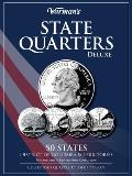 State Quarters 1999 2009 Deluxe Collectors Folder District of Columbia & Territories Philadelphia & Denver Mints