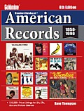 Standard Catalog of American Records, 1950-1990 (Goldmine Standard Catalog of American Records)