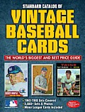 Standard Catalog of Vintage Baseball Cards (Standard Catalog of Vintage Baseball Cards)