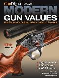 Gun Digest Book of Modern Gun Values: The Shooter's Guide to Guns 1900 to Present (Gun Digest Book of Modern Gun Values)