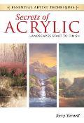Secrets of Acrylic Landscapes Start to Finish