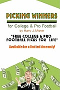Picking Winners for College & Pro Football