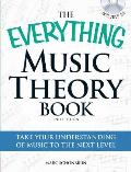 The Everything Music Theory Book with CD: Take Your Understanding of Music to the Next Level (Everything) Cover