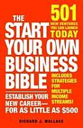 Start Your Own Business Bible 501 New Ventures You Can Launch Today