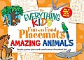 Everything Kids Fun with Food Placemats Amazing Animals Puzzles Games Jokes & More for Tons of Mealtime Fun