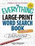 The Everything Large-Print Word Search Book, Volume 4 (Everything)