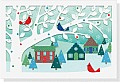 Village Birds Laser Cut Boxed Holiday Cards