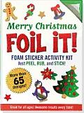 Large Foil It! Merry Christmas