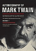 Autobiography of Mark Twain, Volume 1: The Complete and Authoritative Edition [With Earbuds] (Playaway Adult Nonfiction) Cover