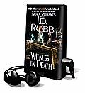 Witness in Death [With Headphones]