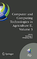 Computer and Computing Technologies in Agriculture II, Volume 3: The Second Ifip International Conference on Computer and Computing Technologies in Ag